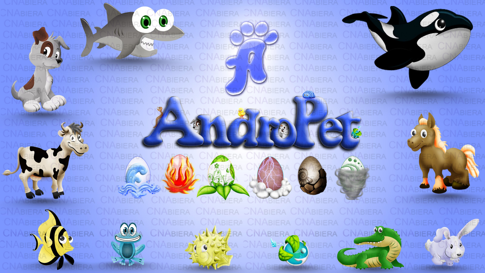 Andropet graphics design