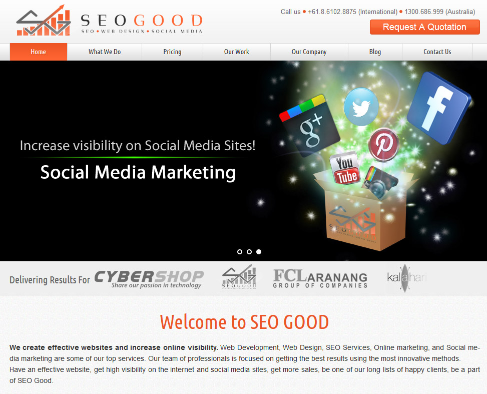 SeoGood webste
