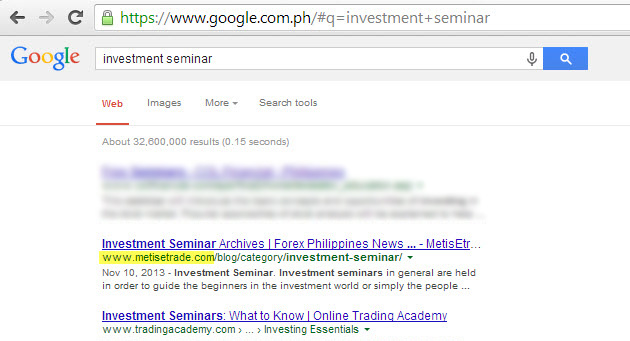 Forex trading seminar philippines 2014