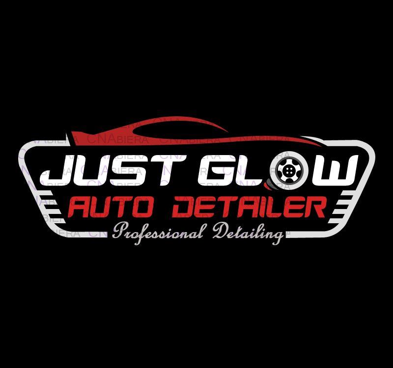 Just Glow Logo Design